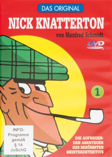 Nick Knatterton. Teil 1 & 2 im Set. 2 DVDs.