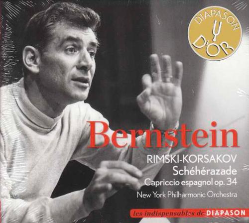 Nikolai Rimsky-Korssakoff. Scheherazade op. 35. CD.