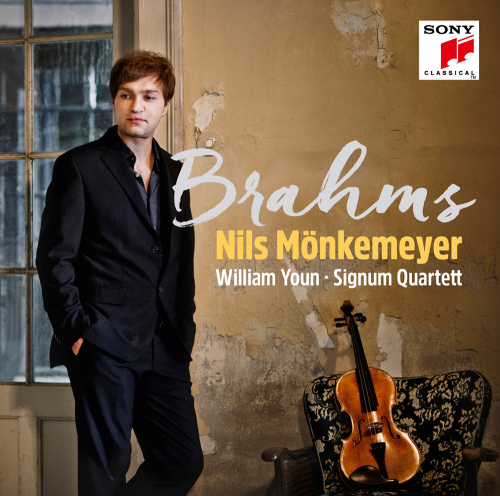 Nils Mönkemeyer. Brahms. CD.