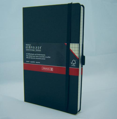 Notizbuch »Kompagnon«, schwarz