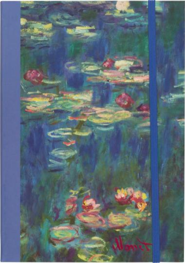 Notizbuch Monet. A5 liniert.