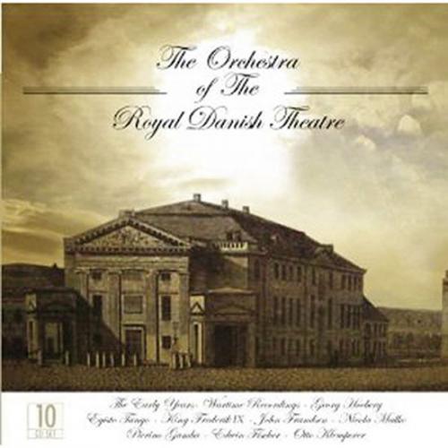 Orchester des Königlichen Dänischen Theaters. 10 CD Set.