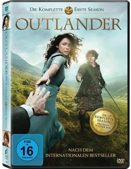 Outlander Staffel 1. 6 DVDs.