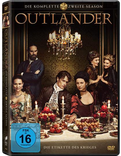 Outlander Staffel 2. 6 DVDs