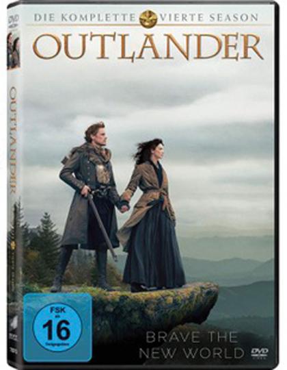 Outlander Staffel 4. 6 DVDs.