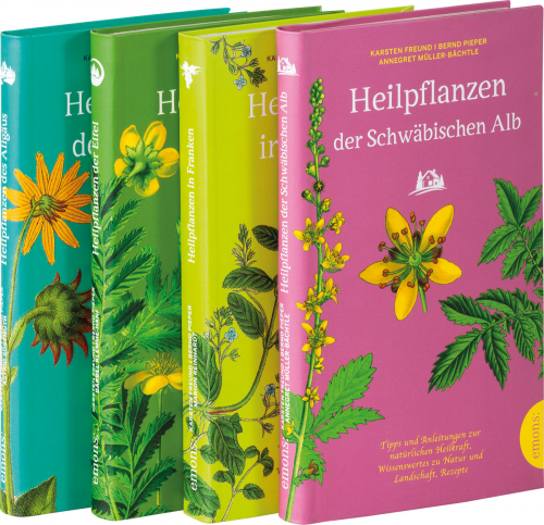 Paket Heilpflanzen. 4 Bände.