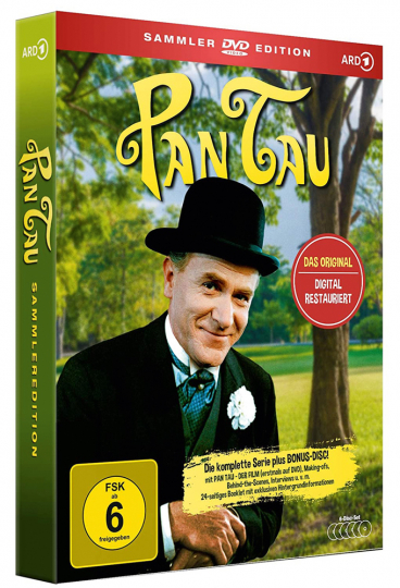 Pan-Tau (Komplette Serie - Sammler-Edition). 6 DVDs.