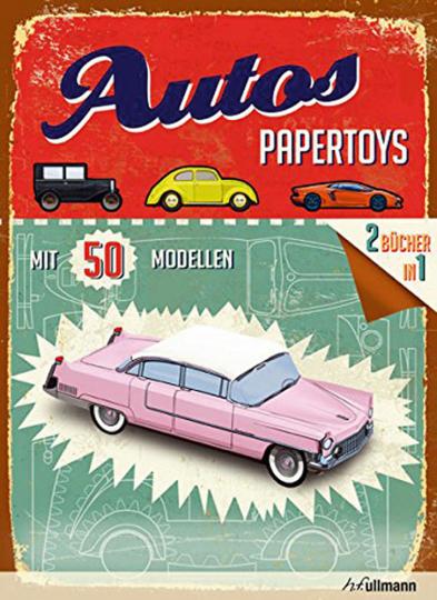 Papertoys. Autos.