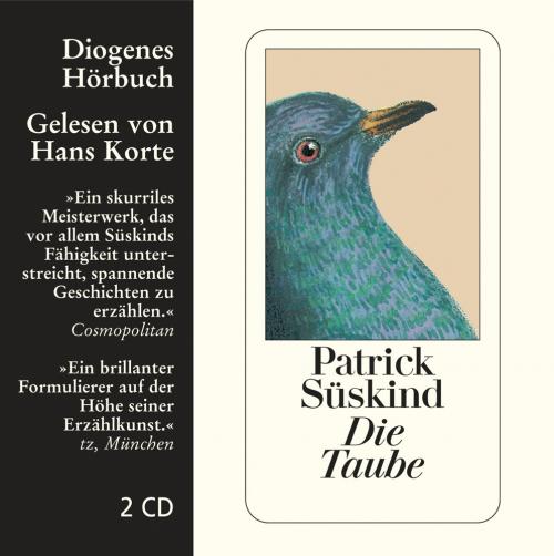 Patrick Süskind. Die Taube. 2 CDs.