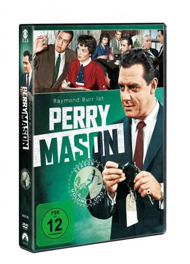 Perry Mason Season 2. 8 DVDs.
