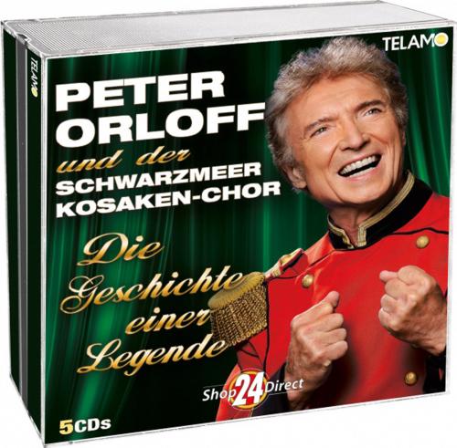 Peter Orloff. Die Geschichte einer Legende. 5 CDs.