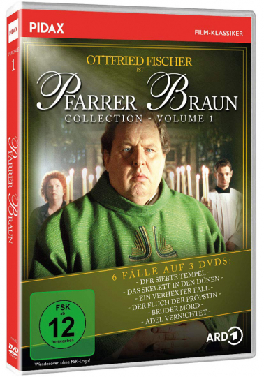 Pfarrer Braun Collection Vol. 1. 3 DVDs.