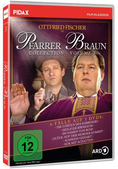 Pfarrer Braun Collection Vol. 3. 3 DVDs.
