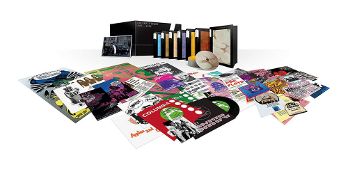 Pink Floyd. The Early Years 1965 - 1972 (Limited-Edition). 10 CDs, 9 DVDs, 8 Blu-ray Discs, 5 Singles 7 Zoll.