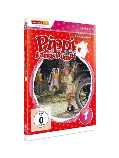 Pippi Langstrumpf DVD 1. DVD.