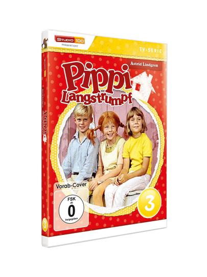 Pippi Langstrumpf DVD 3. DVD.