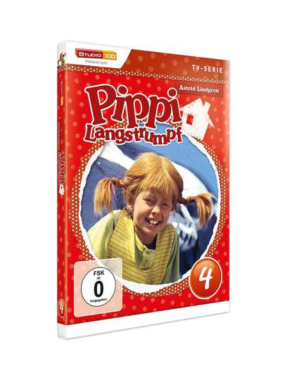 Pippi Langstrumpf DVD 4. DVD.