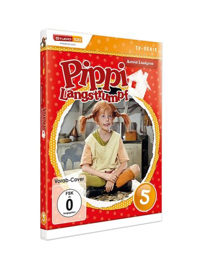 Pippi Langstrumpf DVD 5. DVD.