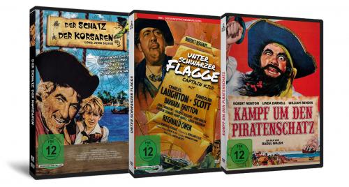 Piratenschatzkiste. 3 DVDs.