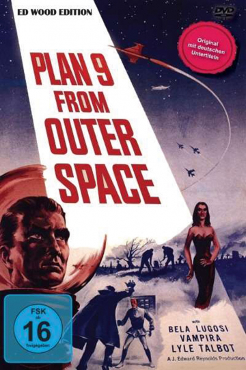 Plan 9 From Outer Space (Ed Wood Collection). DVD.