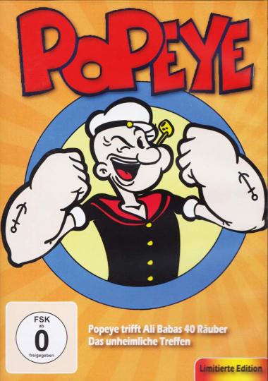 Popeye - Der Seemann (limited Edition). DVD.