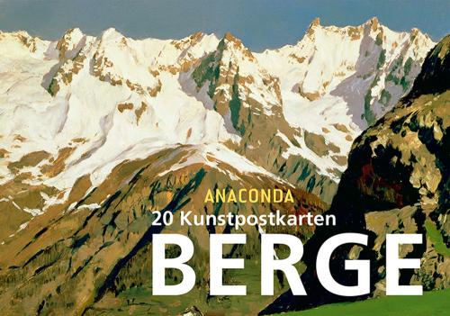 Postkartenbuch Berge. 20 Kunstpostkarten.