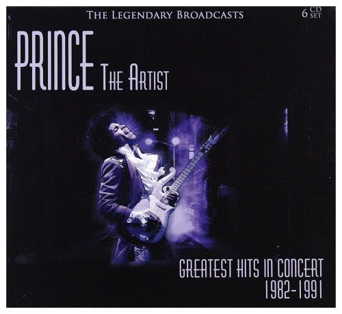Prince. The Artist. Greatest Hits in Concert 1982-1991. 6 CDs.
