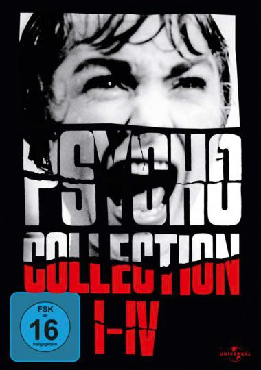 Psycho I-IV (Box mit 4 DVDs)