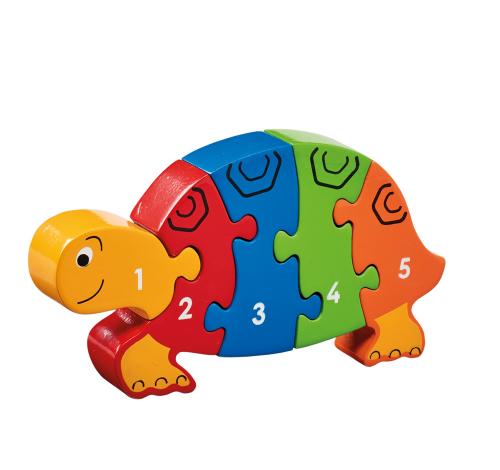 Puzzle »Schildkröte 1-5«.