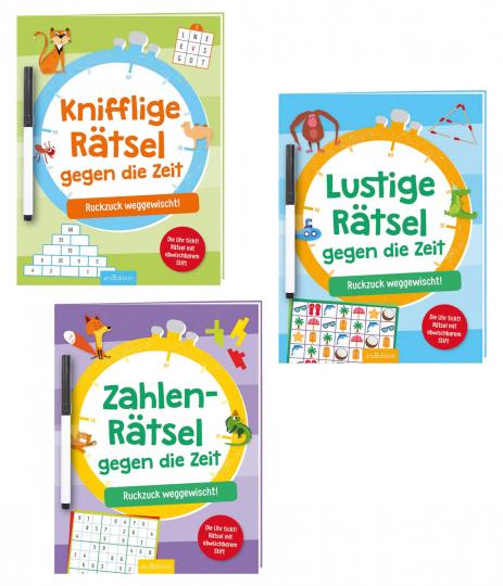 Rätsel gegen die Zeit Set. 3 Bände.