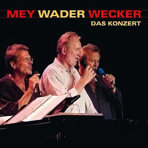 Reinhard Mey, Konstantin Wecker & Hannes Wader. Das Konzert. 2 CDs.