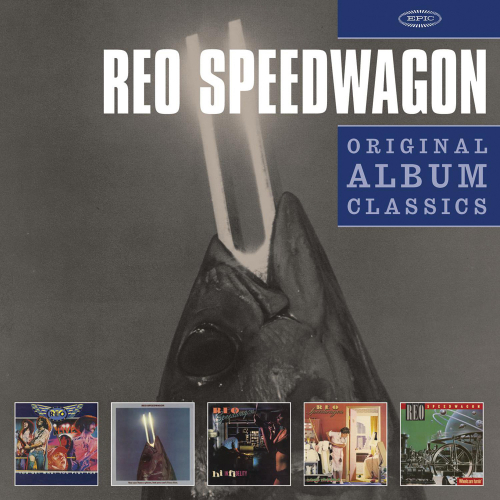 REO Speedwagon. Original Album Classics. 5 CDs.