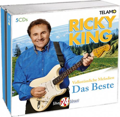 Ricky King. Volkstümliche Melodien. 5 CDs.