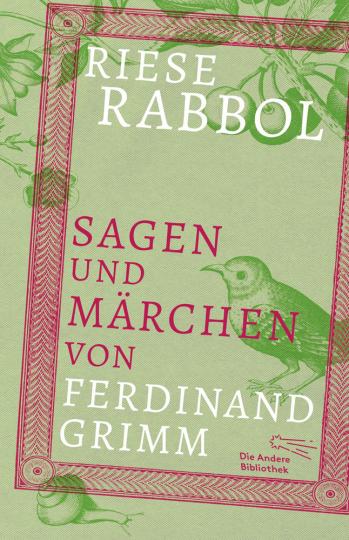 Riese Rabbol. Sagen und Märchen von Ferdinand Grimm.