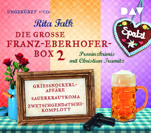 Rita Falk. Die große Franz-Eberhofer-Box 2. 17 CDs.