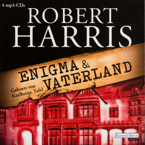 Robert Harris. Enigma. Vaterland. 4 mp3-CDs.