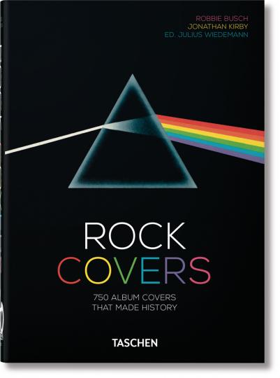 Rock Covers. 750 Plattencover, die Geschichte schrieben.