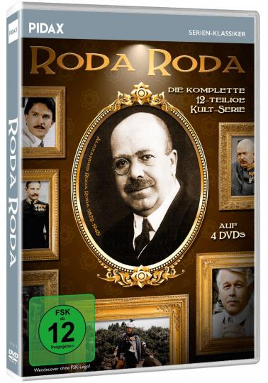 Roda Roda (Komplette Serie). 4 DVDs