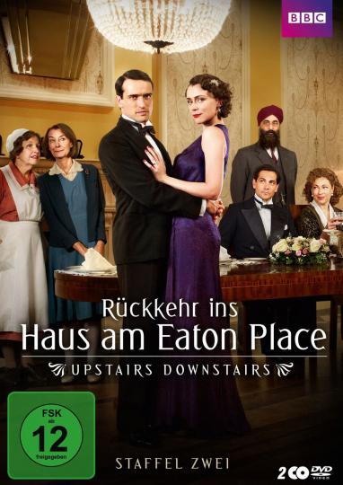 Rückkehr ins Haus am Eaton Place (Staffel 2). DVD.