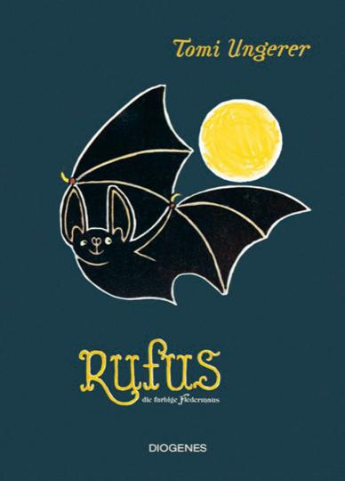Rufus die farbige Fledermaus.