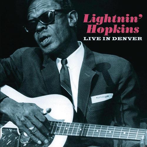 Sam Lightnin' Hopkins. Live In Denver. CD.
