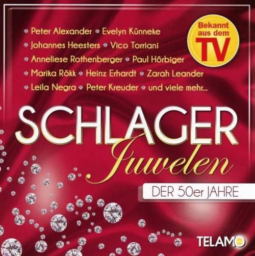 Schlagerjuwelen der 50er Jahre. CD.