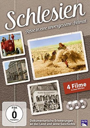 Schlesien - Reise in eine unvergessene Heimat. 3 DVDs.