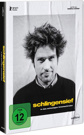 Schlingensief - In das Schweigen hineinschreien. DVD.