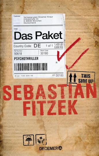 Sebastian Fitzek. Das Paket. Psychothriller.