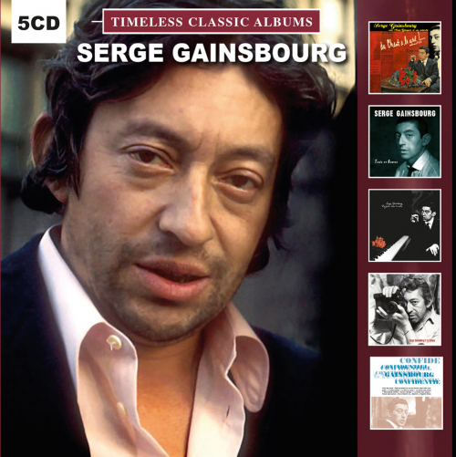 Serge Gainsbourg. Timeless Classic Albums. 5 CDs.