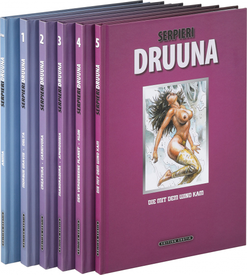 Serpieri Collection Druuna. Graphic Novel. Limitierte Sonderausgabe. 6 Bände.