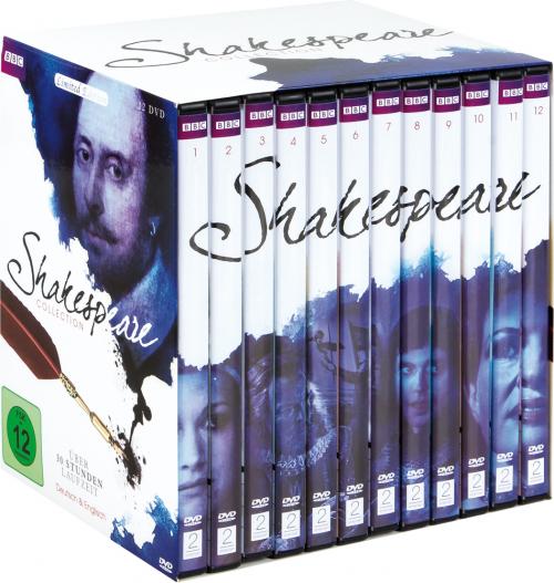 Shakespeare Collection (12 BBC-Verfilmungen). 12 DVDs.