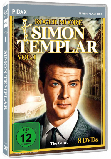 Simon Templar Vol. 1. 8 DVDs.
