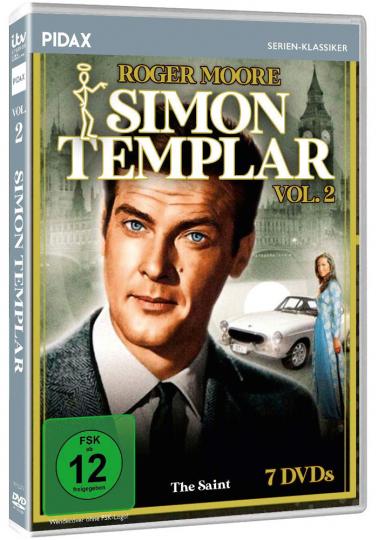 Simon Templar Vol. 2. 7 DVDs.